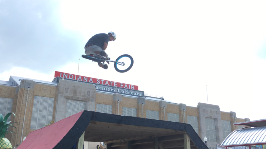 Rich Hoppe / Table Top over the State Fair Coliseum!